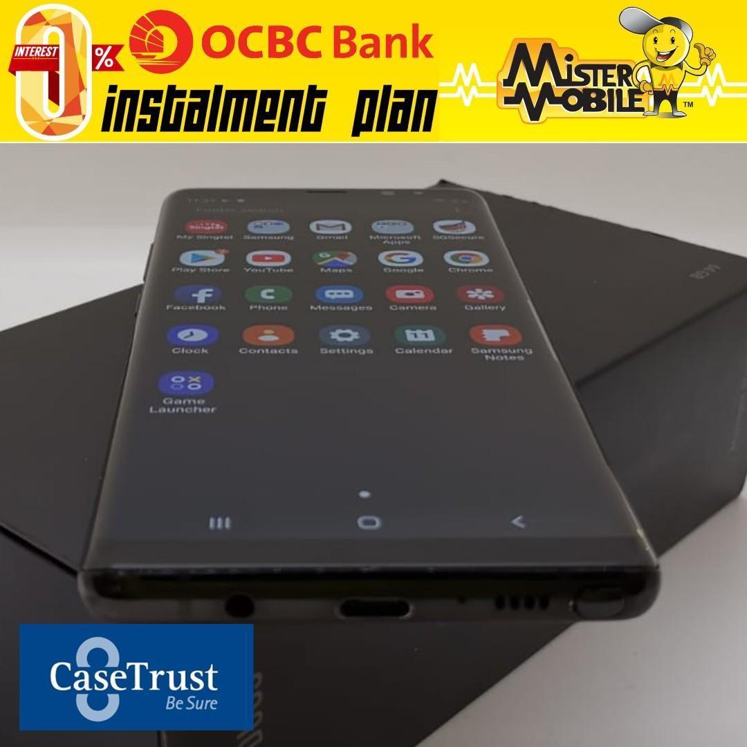Samsung Note 8 64 64GB 64 N950F Note8 N8 Midnight Black Used