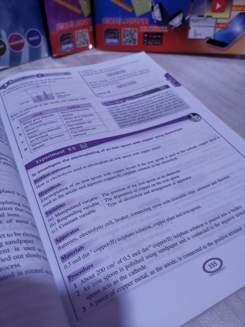📚SPM Success Chemistry for form 4&5