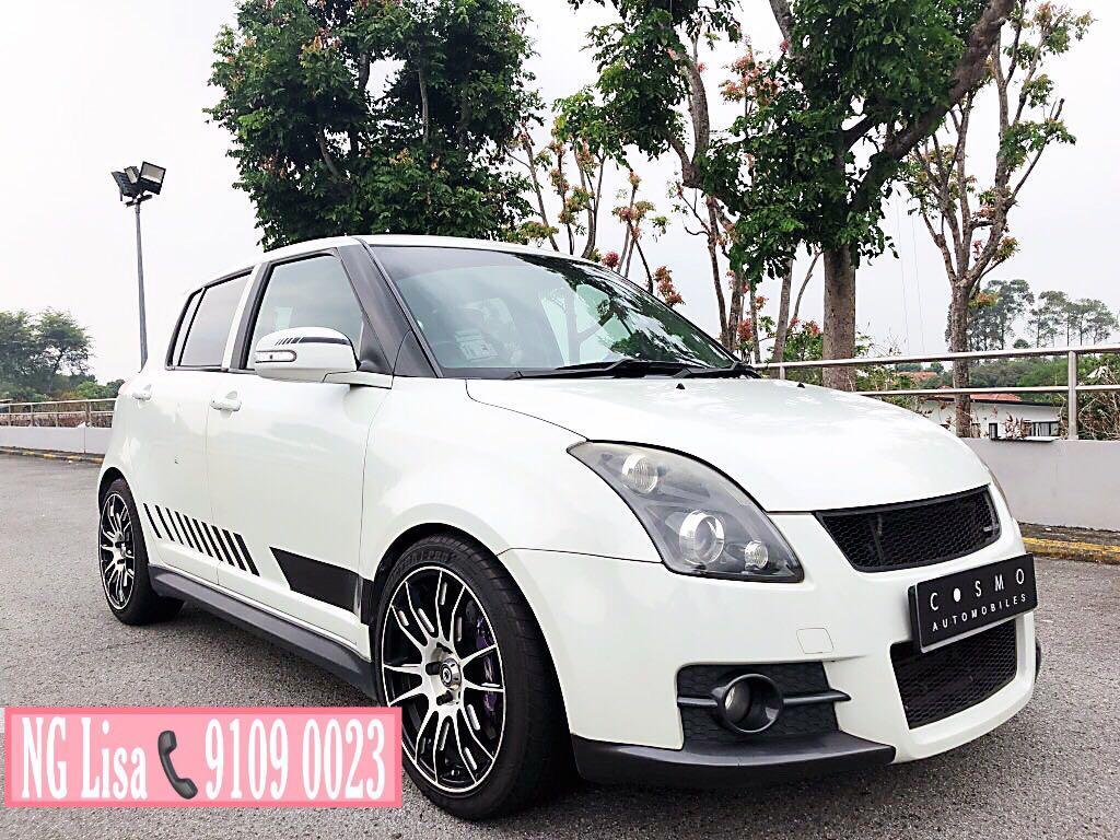 Suzuki Swift Sport 1.6 VVT 5-Dr (M)