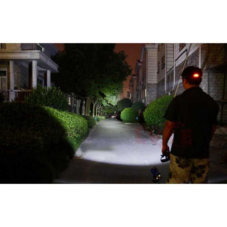 TaffLED Senter Headlamp 1 LED Cree XM-L T6 3000 Lumens - AHT404 TItanGadget