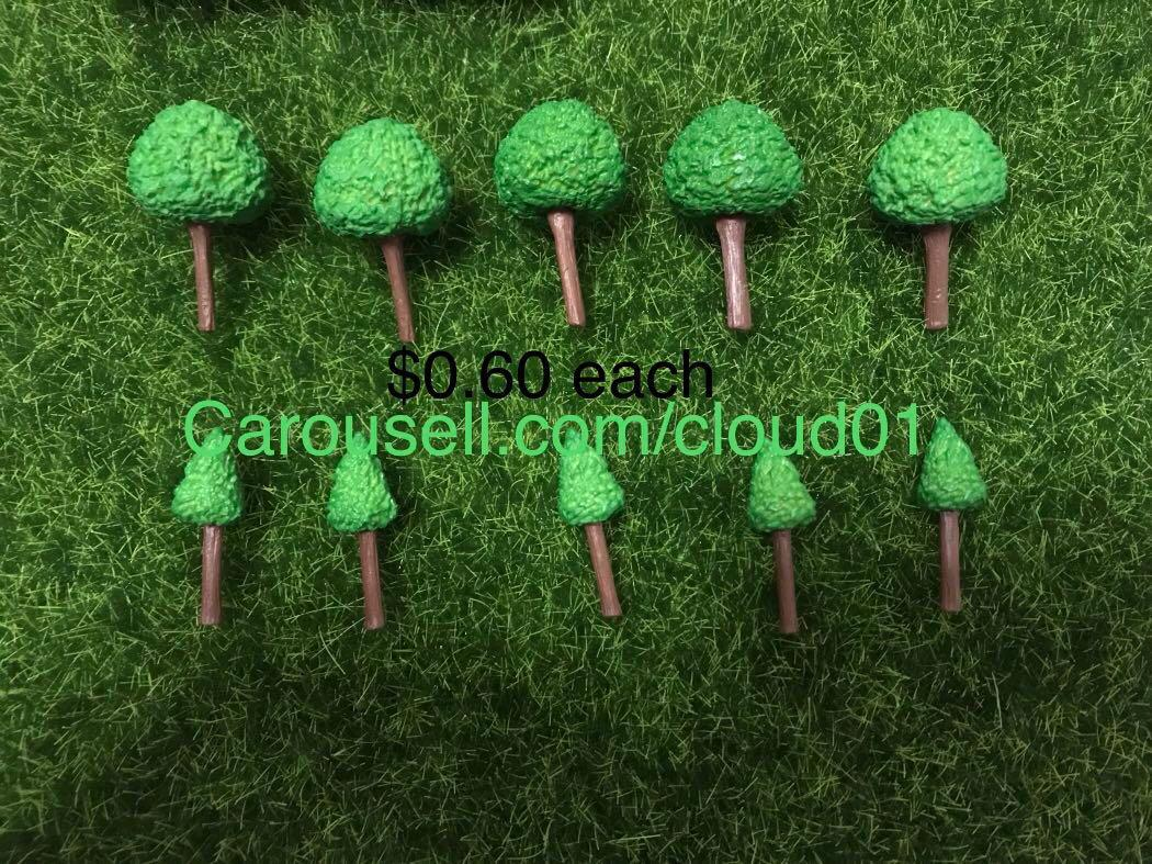 Terrarium tool /figure / mini toy / chairs / tree / lighting