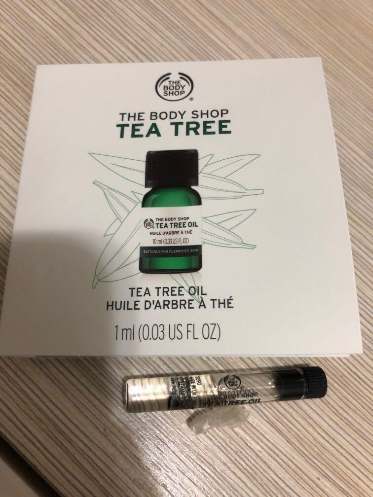 The body shop 茶樹油 1ml