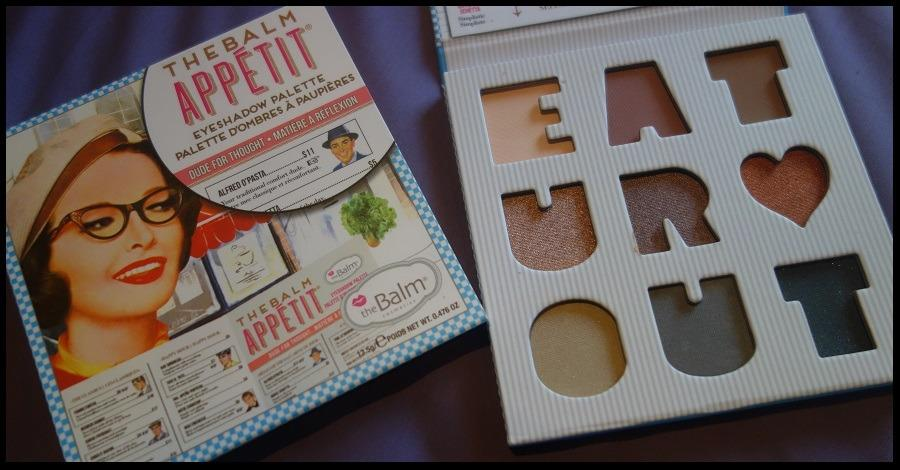 THEBALM THE BALM APPETIT PALETTE BRAND NEW & AUTHENTIC (PRICE IS FIRM, NO SWAPS) WHILE STOCKS LAST