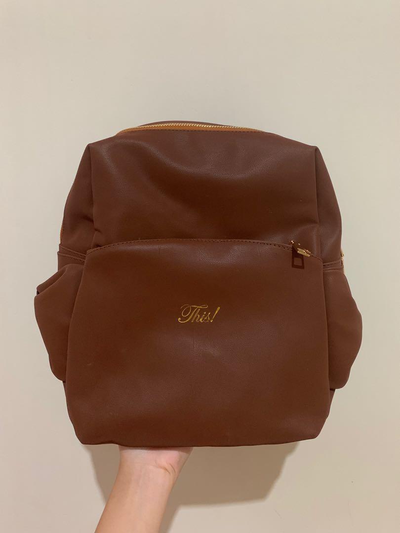 This By Alifah Ratu BEEA RANSEL BAG - tan ransel backpack wanita