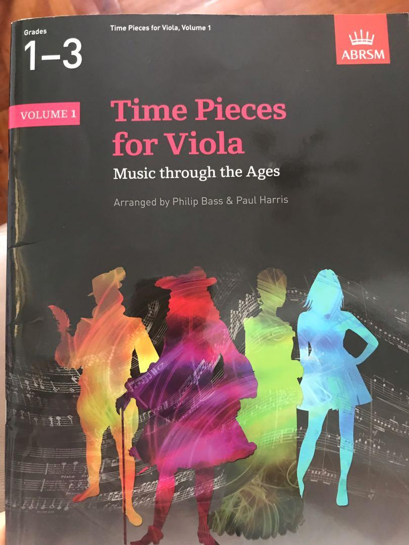 Time pieces for Viola