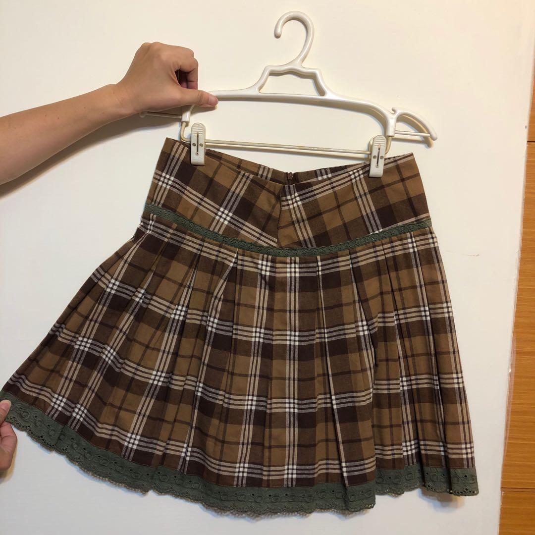 t-parts 提帕斯百褶裙 短裙 (近全新)