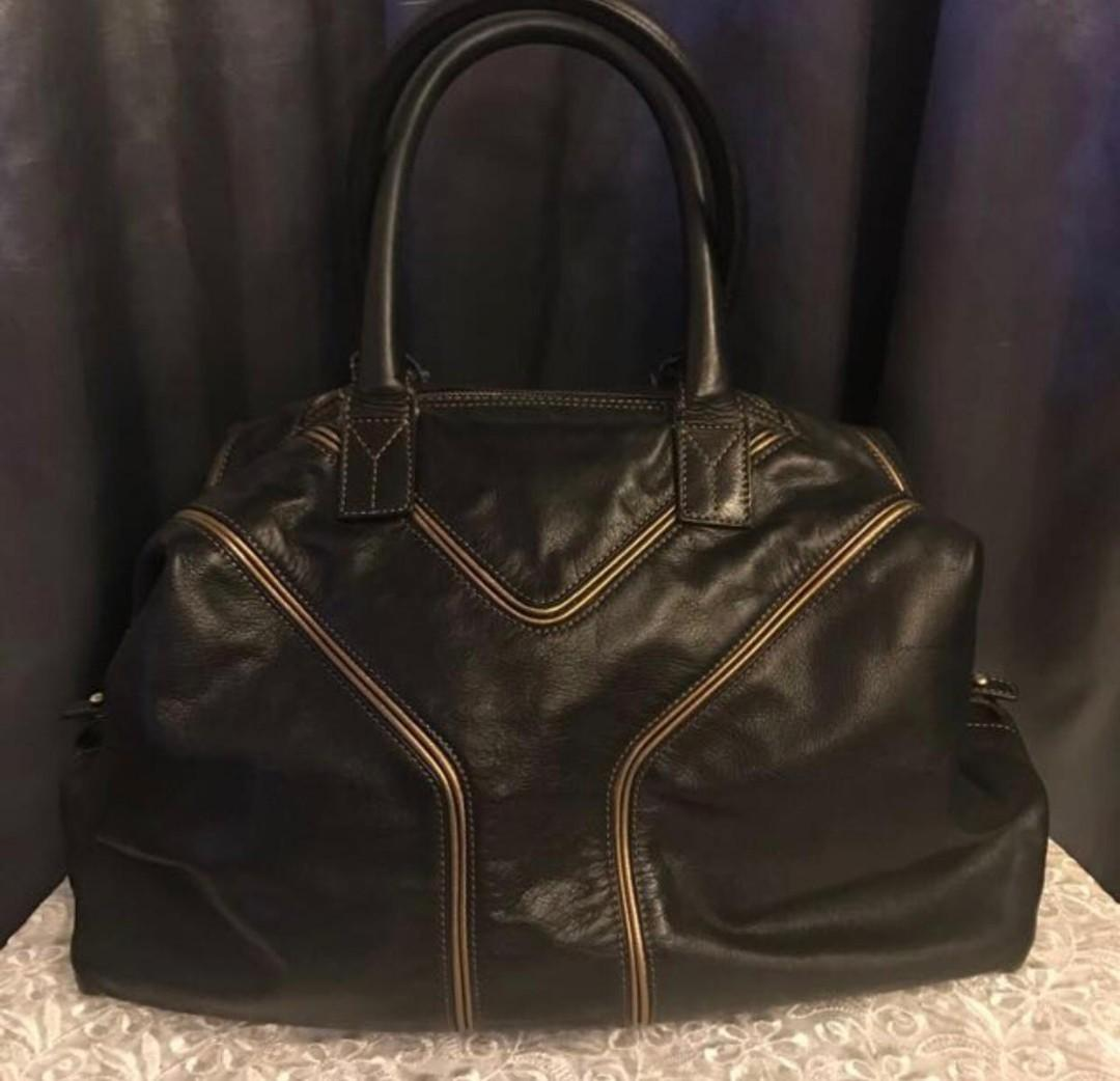 *Used* YSL special edition 2-way leather bag