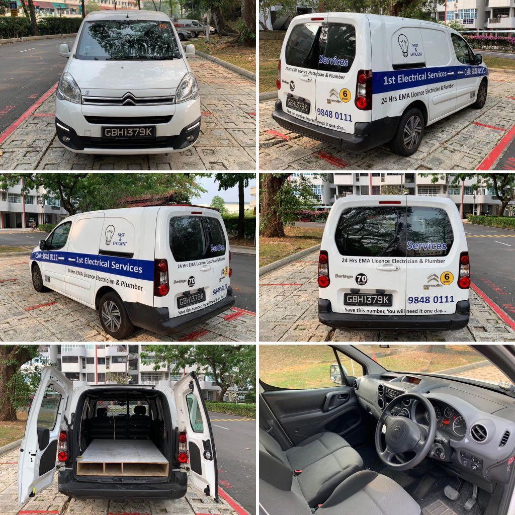 Van for rent (auto/diesel/2018)