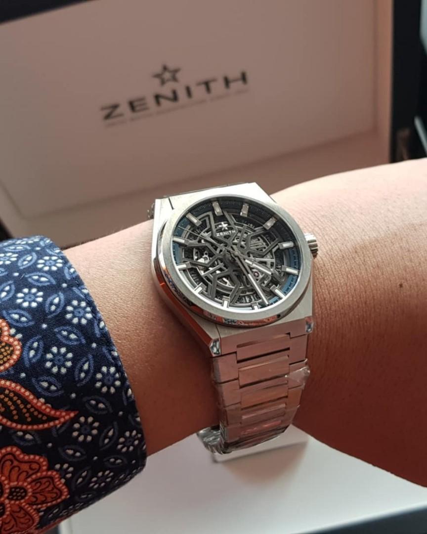 Zenith Defy Classic Skeleton (bukan Rolex Panerai Omega Hublot)