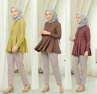 Luna plain blouse
