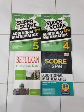 SPM BOOKS Additional Maths & BM