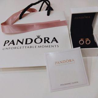 BNIB Pandora Stud Earrings
