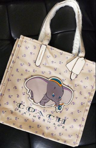 Coach x Disney Tote Bag #MRTHougang