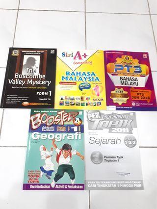 PT3 Workbooks Bahasa Melayu, Geografi, Sejarah, the Boscombe Valley Mystery