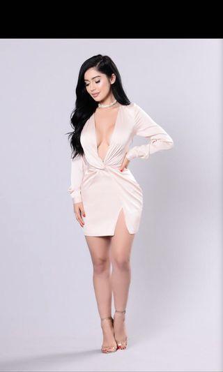 Fashion Nova Sugar Free Dress - Size Large