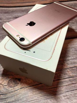 IPhone 6s 16 粉 (有傷,螢幕小白點)
