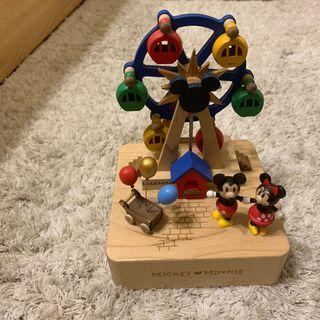 迪士尼 米奇米妮 音樂盒