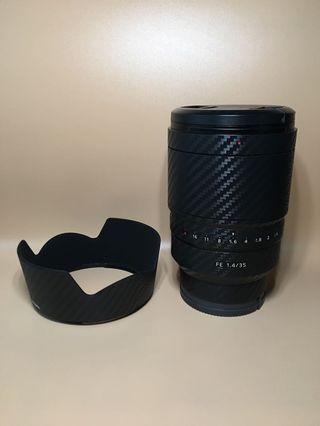 sony 35mm f1.4 ZA FE