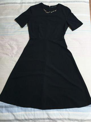 padini pco classic black office work dress