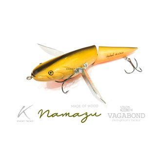 Collector' item! New & Cheap Japanese Vagabond Namazu jointed Lure!