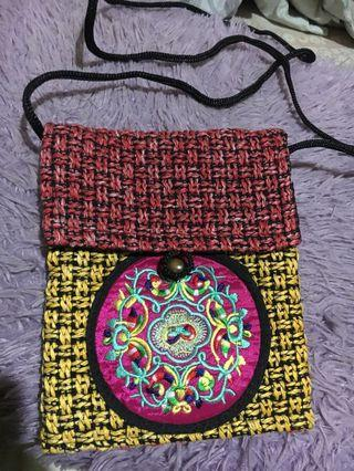 Oriental sling bag from singapore. Original. New. Freongkir jabodetabek