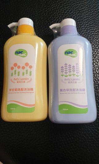 nac mac 洗髮沐浴精