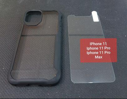 IPhone 11 6.1/ 11Pro / 11 Pro Max 6.5 Free Tempered Glass