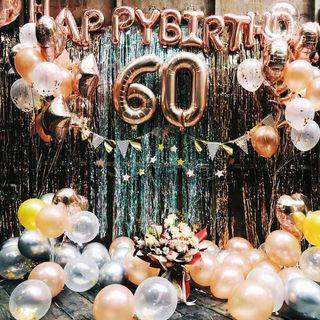 Letters Numbers Party Foil Balloons