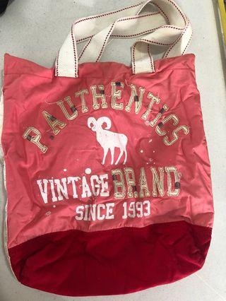 Pink Athletics Tote bag