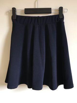 韓國帶回 靛藍短裙
