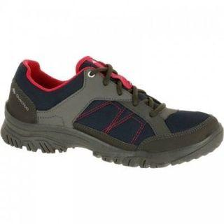 NH100 WOMEN'S COUNTRY WALKING BOOTS - NAVY PINK
