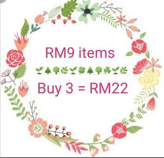 RM9 items promo