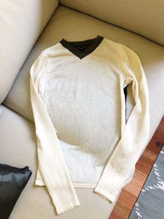 Authentic rag and bone cashmere blended sweater