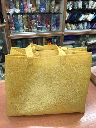 Woven bag for Tupperware/goodies