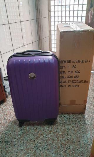 REBACCA-20吋ABS登機箱(紫色)