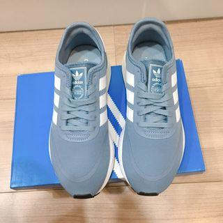 [全新已剪吊牌]Adidas N-5923灰藍色 23 / US 6