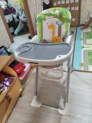 Baby Chair merk baby does jarang pakai masih plastikan