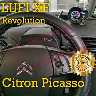 Citroen Picasso Lufi XF Revolution OBD OBD2 Gauge Meter display #lufi #defi #magician #ultragauge #scangauge