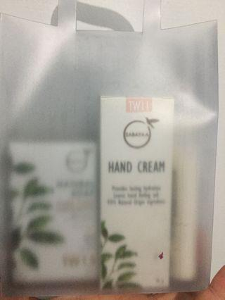 SABAYAA保養組❤️(柔皙嫩手霜、保濕水凝乳、椰萃嫩白皂)