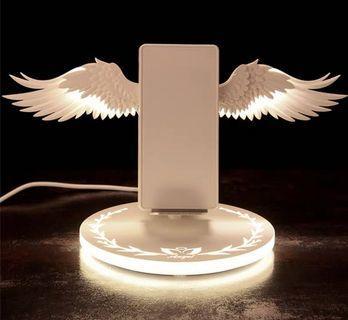 天使之翼無線充電器「升級版」(充電翅膀常開)