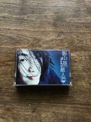 敵人-鄭中基-二手卡帶/錄音帶