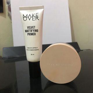 Make Over Primer + Dear Me Beauty Translucent Powder