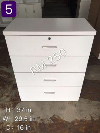 chest drawer(4 tier) limited