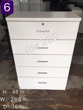 chest drawer(5 tier) limited