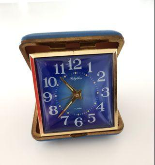 vintage foldable table clock