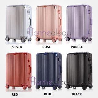 22 and 28 Inch Travel Aluminum Alloy Frame Luggage Bag Suitcase TSA Lock (Type B)