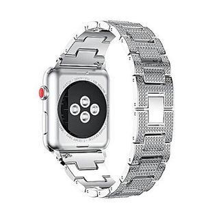 2225) Luxury Alloy Crystal Watch Band Wrist Strap For Apple Watch Series 3 38MM