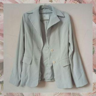 [PLV] Blazer korea grey abu murah