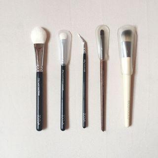 Makeup Brushes (ZOEVA, Make Up For Ever, EcoTools)