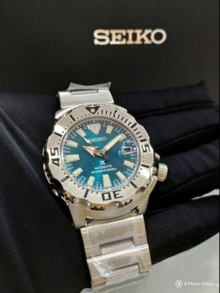 * FREE DELIVERY * JDM Brand New 100% Authentic Seiko Prospex Jade Monster Men's Automatic Divers Watch SZSC005